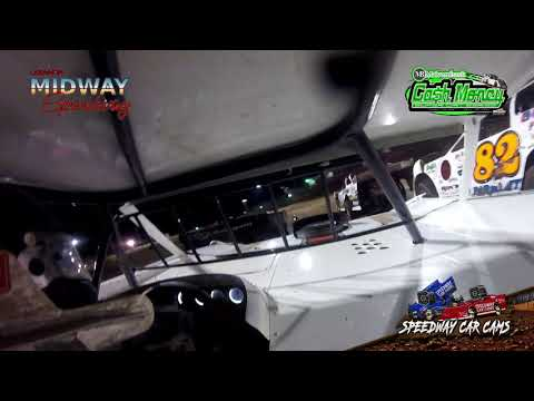#14 Brad Looney - Cash Money Late Model - 10-19-19 Midway Speedway  - In Car Camera