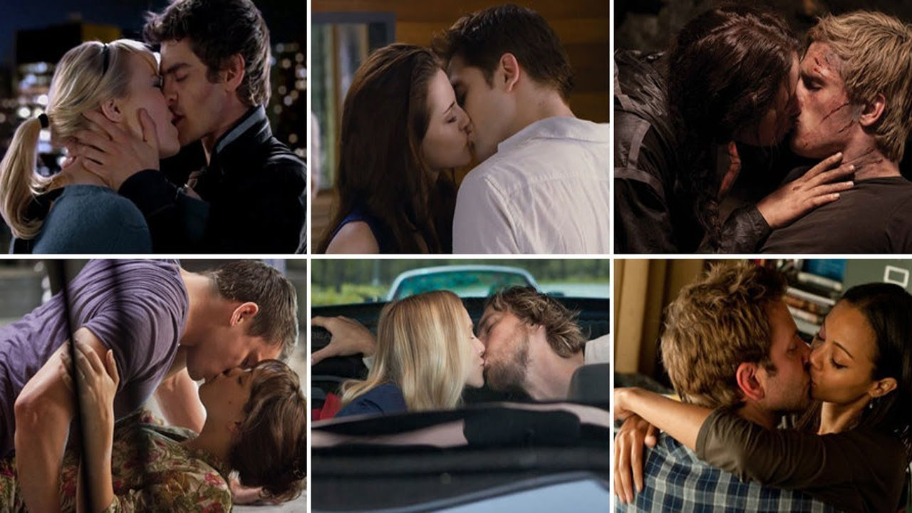 Hottest Hollywood Kissing Scenes
