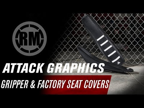 VPS Seat Cover Compatible With Yamaha Banshee Black Logo Seat Cover