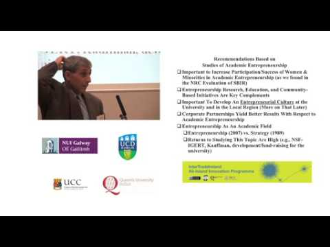 Prof Donald Siegel's Day 2 keynote address at the IntertradeIreland Annual Conference 2012, pt 2