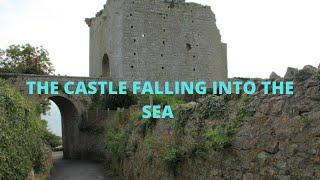 The Castle Falling Into The Sea - Rufus Castle