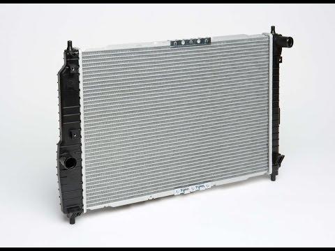 Меняю радиатор и термостат Chevrolet Aveo 1.6
