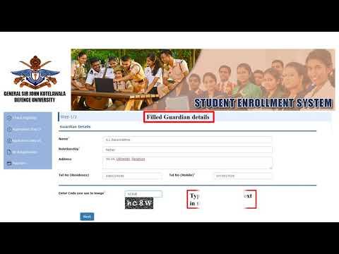 Online Student Enrollment Guide