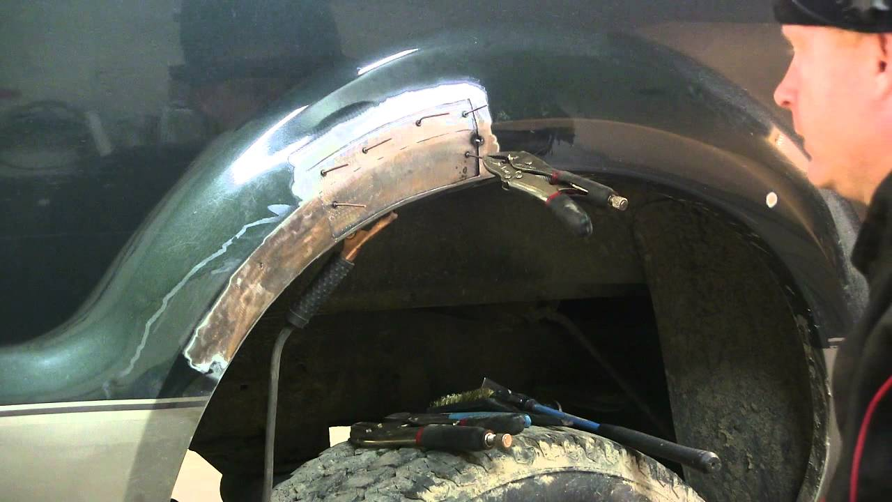 More Rust Repairs On The Ford Super Duty Youtube