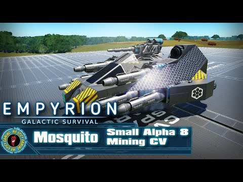 Mosquito Small Alpha 8 Mining CV By Rustimus  -  Empyrion: Galactic Survival Workshop Showcase