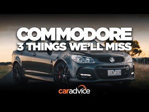 The Holden Commodore and three things we'll miss: The lion brand's big Aussie sedan - Dauer: 3 Minuten, 33 Sekunden