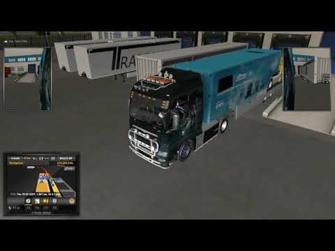 ETS2 TruckersMP : One Truck Family Event: Bonus Delivery #10 - Frankfurt to Helsinki Pt 1 of 2