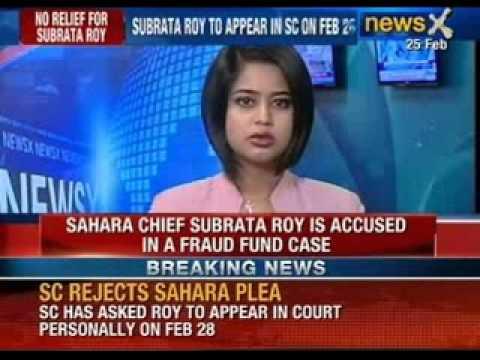 Supreme Court dismisses Sahara Chief's plea