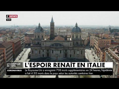 Coronavirus: La pression baisse sur les hôpitaux, l'espoir renaît en Italie