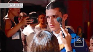 MIQUEL SUAY Backstage 080 Barcelona Fashion Week Spring Summer 2018 - Fashion Channel