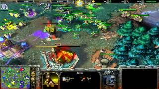 Хаос играет против кумира в Warcraft 3