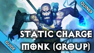Diablo 3: Static Charge Monk (Group | 2.3 | Season 4)