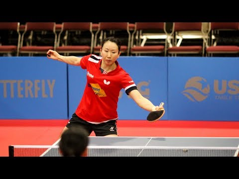 2019 Seamaster US Open Table Tennis Championships - Day 2 (Round Of 16 & QF) - Table 1