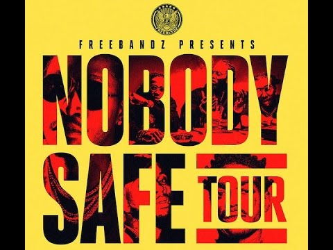 Future's NOBODY SAFE TOUR at the FedEx Forum in Memphis, Tenn