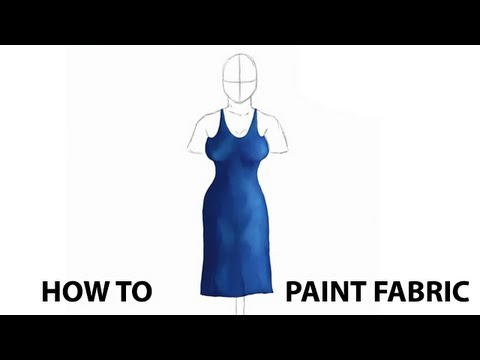 How To Paint Fabric & Clothing With Corel Painter 12