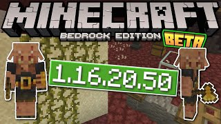 Minecraft Bedrock BETA 1.16.20.50 OUT NOW ! NEW MOB = PIGLIN BRUTE ![ Change Log ] MCPE,Xbox,Windows