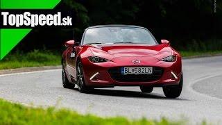 Test Mazda MX5 ND 2.0 Revolution TopSpeed.sk