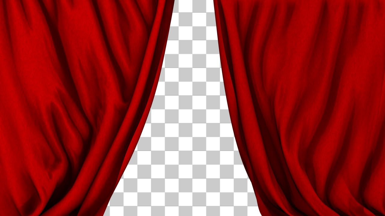 Theater Performance Red Curtain Closing  2 Styles  YouTube