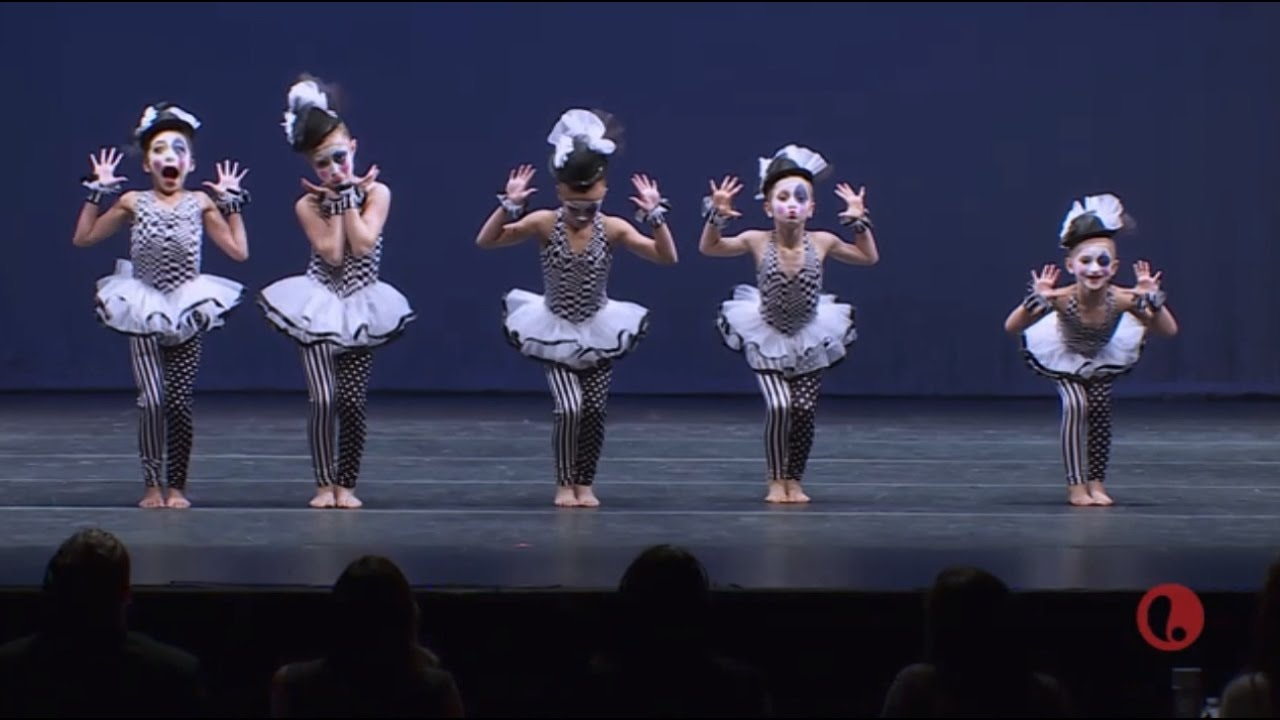 Dance Moms The Minis Group Dance Mime Your Business Youtube