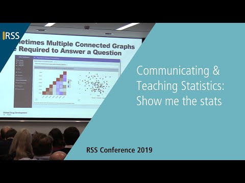Communicating & Teaching Statistics: Show me the stats