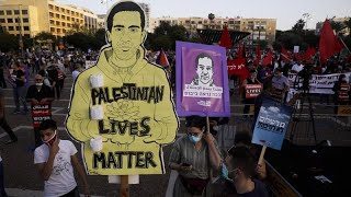 Israel: Jewish-Arab protest agaİnst plans to annex parts of West Bank