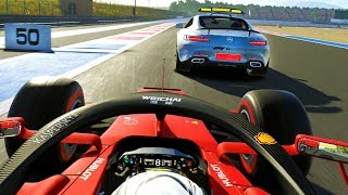 7 LAP SPRINT AT THE END CHANGES EVERYTHING! - F1 2019 CAREER MODE Part 93