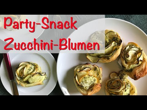 Party Snacks Vegetarisch : snack party grillfest zucchini blumen mit bl tterteig vegetarisch youtube ~ Eleganceandgraceweddings.com Haus und Dekorationen