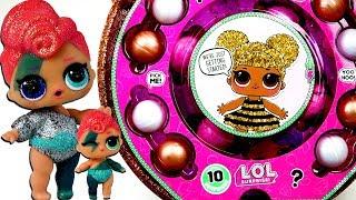 Огромный золотой шар LOL оригинал! Мультик про ультра редкие живые куклы лол сюрприз и сестрички лол