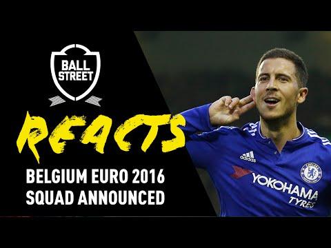 BELGIUM ANNOUNCE GREATEST EVER SQUAD | EURO 2016