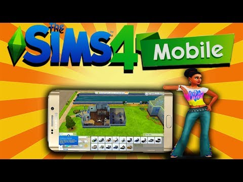The Sims 4 Android & IOS - Mobile Gameplay !