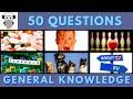 - General Knowledge Quiz #7 | Trivia 50 Questions | Do You Know | Pub Quiz