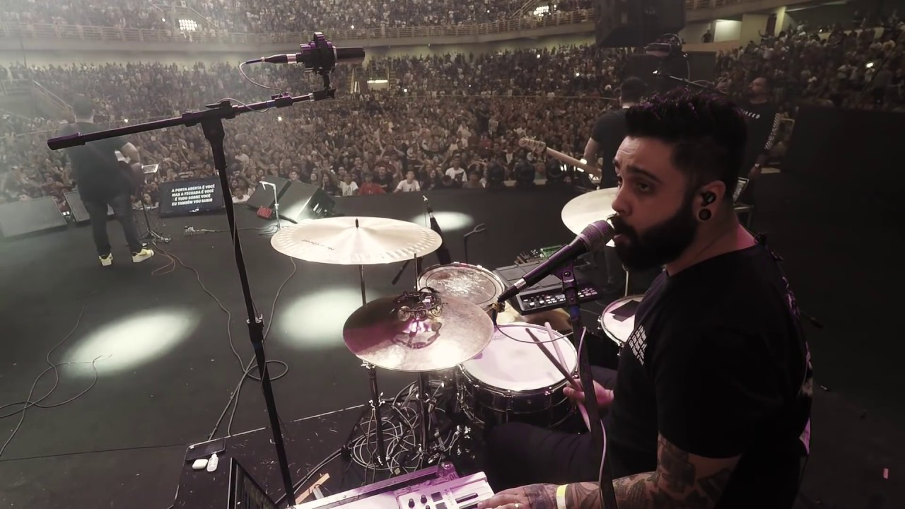É Tudo Sobre Você - Live Drums + Voice FX | Morada feat. Felipe Henri