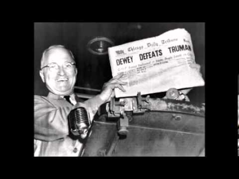 DEWEY DEFEATS TRUMAN: THE GREATEST UPSET IN AMERICAN POLITICAL HISTORY (PT. 2 OF 2)