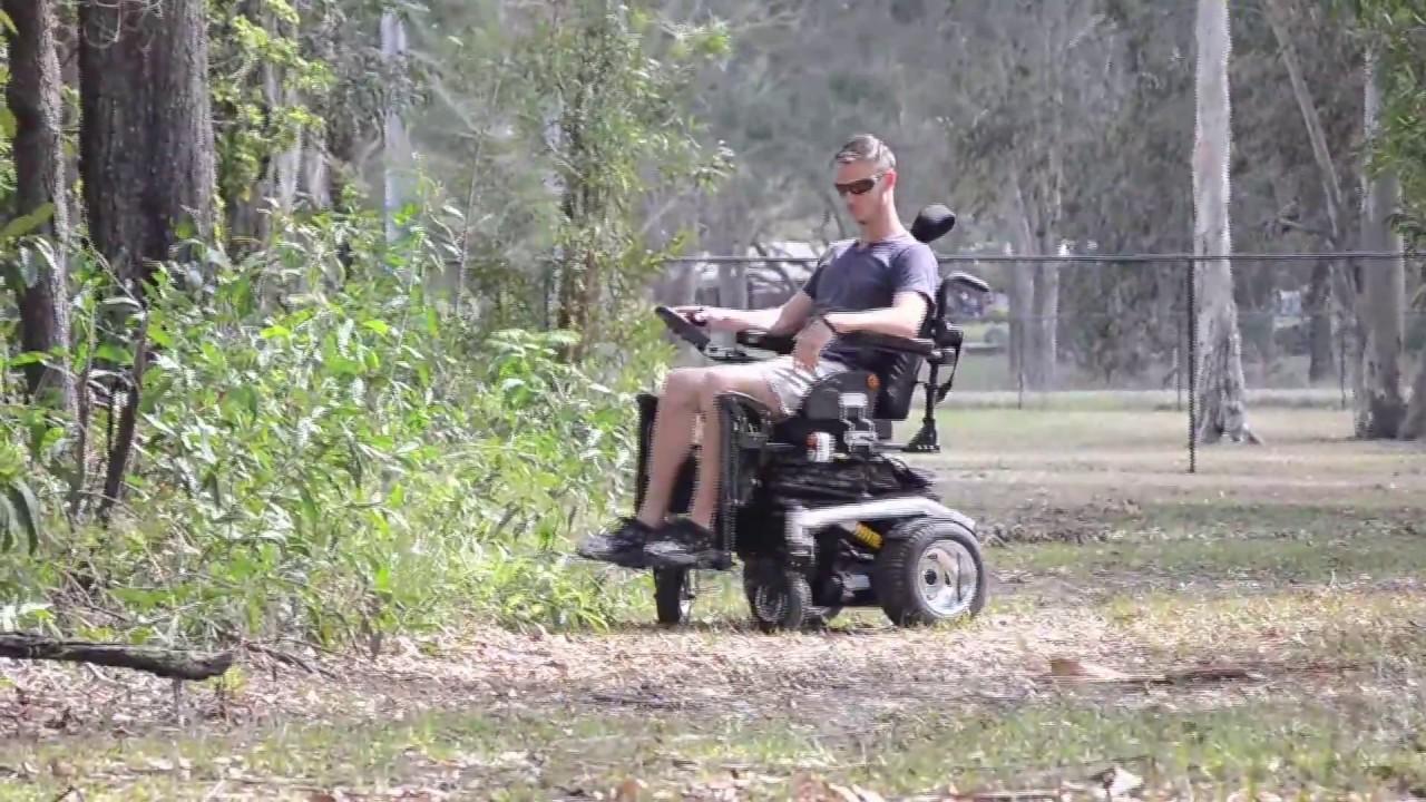 Sahara Elevating Electric Wheelchair - YouTube