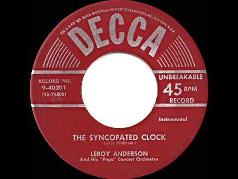 1951 HITS ARCHIVE: The Syncopated Clock - Leroy Anderson (his Original Version)