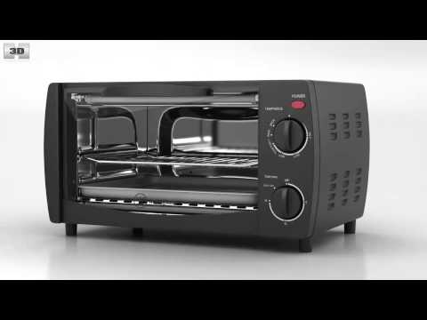 Toaster Oven Westinghouse WTO1010B by 3D model store Humster3D.com