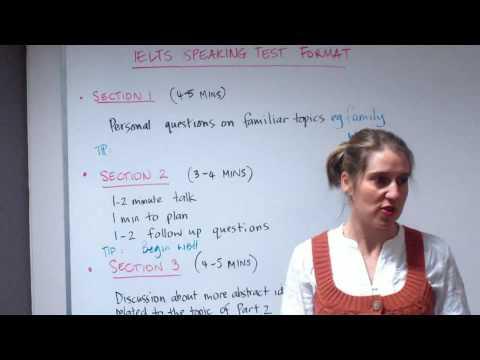 IELTS Speaking Test - Format and Tips @ Meridian International School Sydney Australia