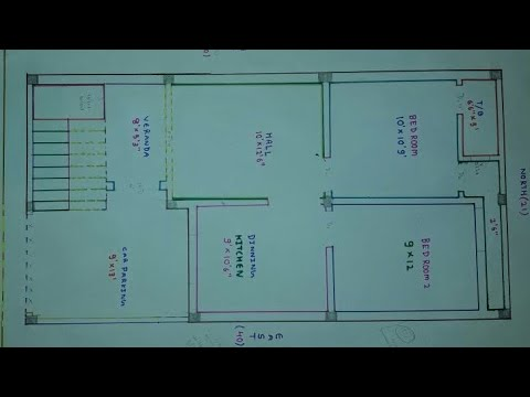 Kitchen Design India Pictures Nook Sets With Storage 21 × 40 South Face House Plan - Youtube