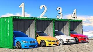 КОНТЕЙНЕРЫ С BMW! БИТВА КОНТЕЙНЕРОВ В ГТА 5 Онлайн. Случайный Выбор в ГТА 5