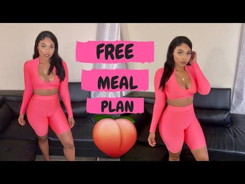 FIT THICK MEAL PLAN #6   BUBBLE BUTT & NO GUT!   FAT BLASTING MEAL PREP! thumbnail