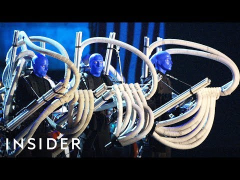 How Blue Man Group Makes Their Instruments