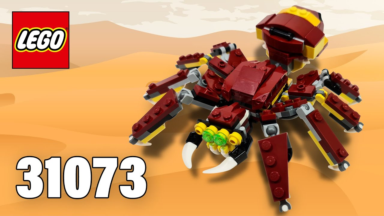 Giant Spider from Mythical Creatures [31073] LEGO® Creator Building Instructions