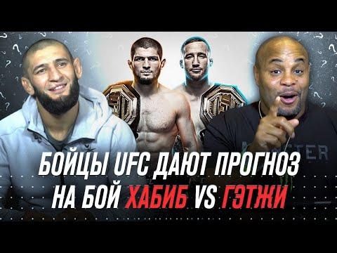 UFC 254: Хабиб vs Гэтжи - Прогноз от звезд UFC