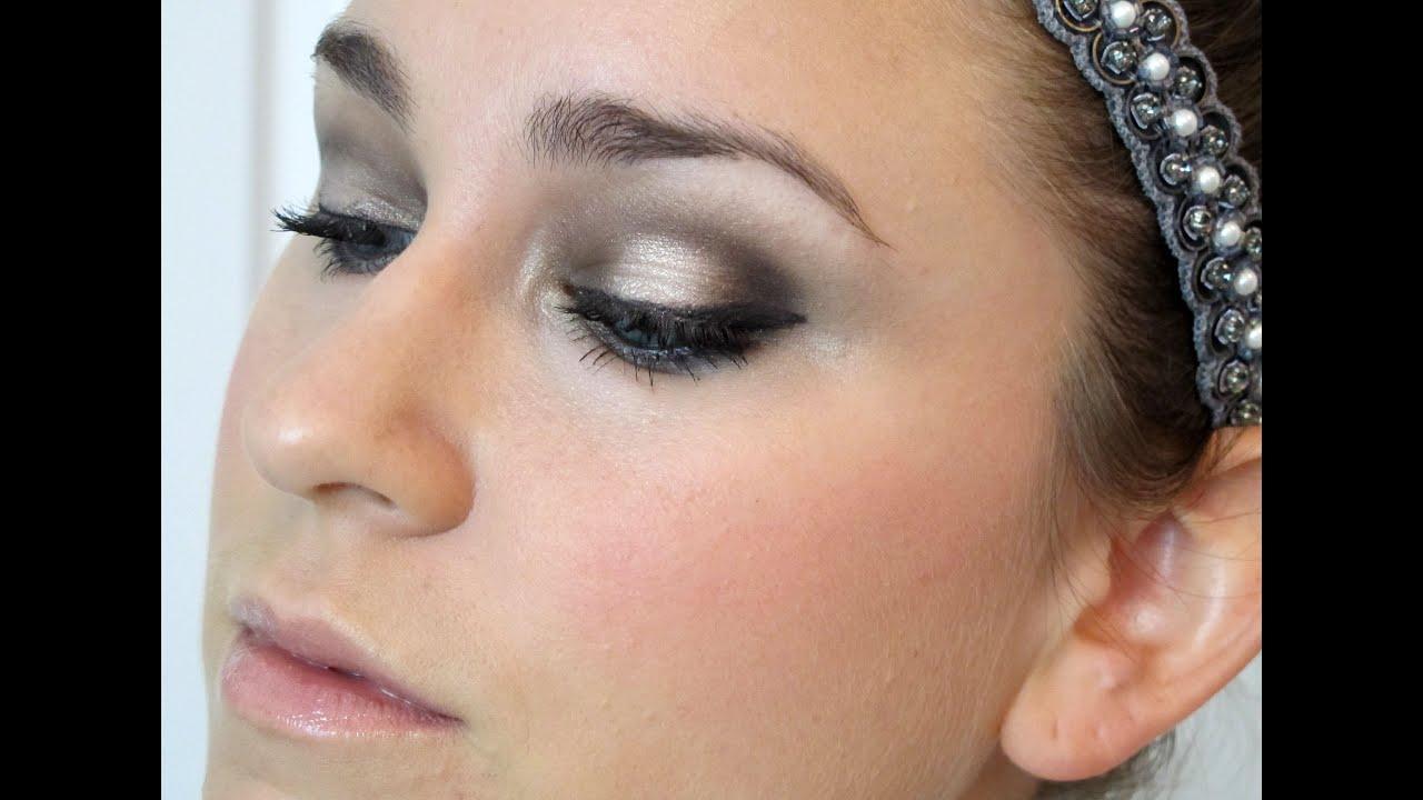 Wedding/Formal Event Makeup: UD Naked 2, MAC - YouTube