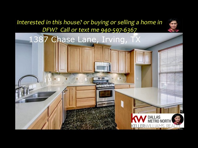 1387 chase lane, Irving, TX 75063 Hunters Ridge Townhomes
