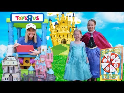 Playing With Princesses At Toys R Us | MAGICLIPS & Glitter Gliders