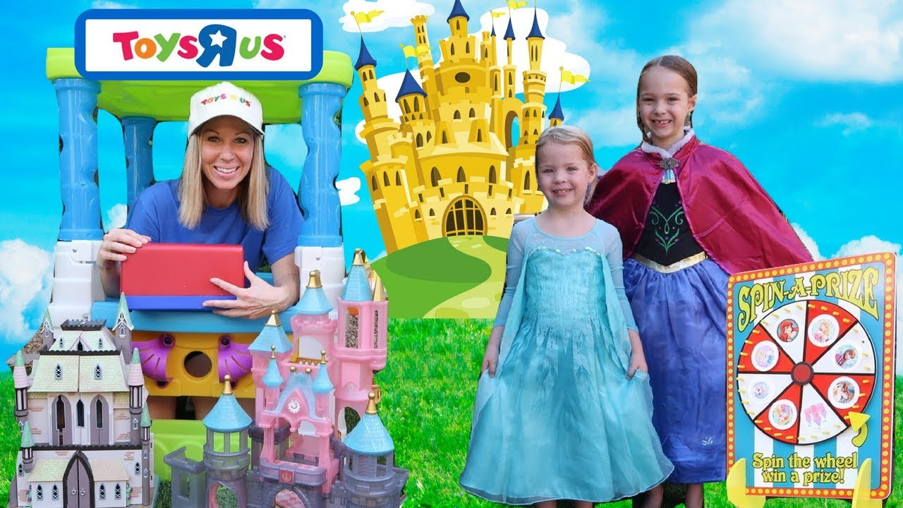 Playing With Princesses at Toys R Us MAGICLIPS & Glitter ...