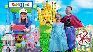 Playing With Princesses at Toys R Us MAGICLIPS & Glitter Gliders