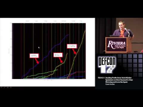 DEF CON 17 - Grant Jordan - Stealing Profits from Stock Market Spammers