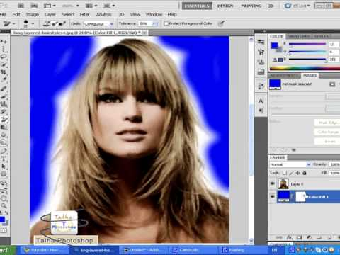 how to use adobe photoshop cs5 eraser tool and background eraser ...